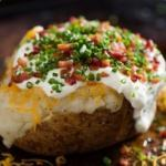 a baked potato